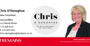 Chris O'Donoghue - Tremains Real Estate Rotorua